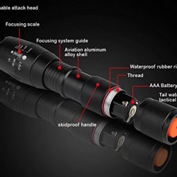 Best-007-LED-1000LM-Torche-Lampe-de-Poche-Zoomable-et-Rechargeable-avec-5-Modes-0-2