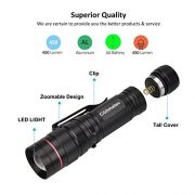 Coomatec-SD-200-Ultra-Puissante-Neutral-White-450-Lumen-LED-Lampe-de-poche-EDC-Lampe-Torche-Zoom-Flashlight-0-2