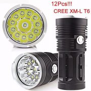 Hipzop-30000LM-12x-CREE-XM-L-T6-LED-lampe-torche-4x-18650-Chasse-Lampe-0-1