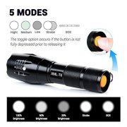 Lampe-Torche-iLOME-Lampe-de-Poche-LED-Ultra-Puissante-900LM-Etanche-Zoomable-avec-5-Modes-Intensit-Ajustable-0-2