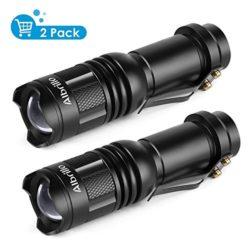 Albrillo-Mini-Lampe-de-Poche-Torche-Lampe-de-Poche-CREE-LED-T6-Etanche-IPX4-Flamme-Rglable-avec-3mondes-120Lumen-0