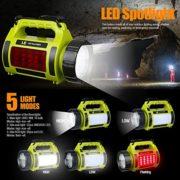 LE-Lampe-Torche-LED-Rechargeable-1000lm-5-en-1-5-Modes-3600mAh-Fonction-de-Batterie-Externe-Lanterne-LED-de-Camping-Puissante-Etanche-0-0