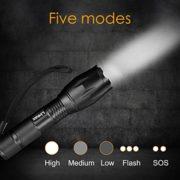 Linkax-Torche-Lampe-de-Poche-LED-Ultra-Puissante-800LM-Etanche-Zoomable-avec-5-Modes-Intensit-Ajustable-Idal-pour-Camping-Randonne-Situations-durgence-0-0