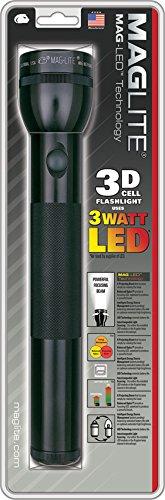 Mag-Lite-ST3D016-3-D-Cell-Lampe-Torche-LED-Mtal-Noir-315-cm-0