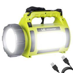 LE-Lampe-Torche-LED-Rechargeable-1000lm-5-en-1-5-Modes-3600mAh-Fonction-de-Batterie-Externe-Lanterne-LED-de-Camping-Puissante-Etanche-0