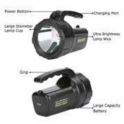 Irypulse-LED-Lampe-Torche-Projecteur-clairage-Puissant-de-500m-Rechargeable-Lger-tanche-2-Modes-Lampe-de-Poche-Polyvalent-pour-Recherche-Secours-Camping-Randonne-Urgence-0-0