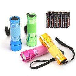 EverBrite-Jeu-de-Lampe-de-Poche-LED-4-Pice-Lampe-Torche-avec-Poigne-Brille-pour-Travail-Cyclisme-Camping-Lecture-Promenade-Randonne-12-x-AAA-Piles-Incluses-0