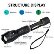 Lampe-Torche-LEDGvoo-2-pack-Lampe-Torche-et-Lampe-de-Poche-Militaire-Poche-LED-Cree-LED-1200-Lumens-Puissante-5-Modes-Zoomable-500m-de-Distance-0-0