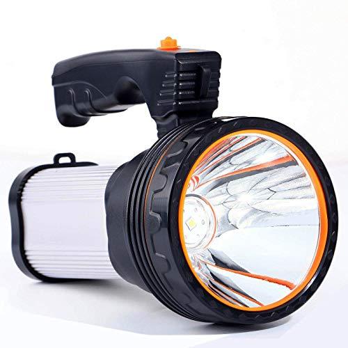 ROMER-LED-Rechargeable-Handheld-Searchlight-High-Power-Super-Bright-9000-MA-6000-LUMENS-CREE-Tactical-Spotlight-Torch-Lantern-Flashlight-0