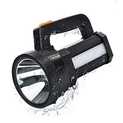 Lampe-Torche-LED-Rechargeable-tanche-IPX4-LED-3-En-1-Puissante-9600mAH-Lampe-Camping-Portable-Lampe-de-Poche-Rechargeable-pour-Randonne-Camping-Ceinture-et-Chargeur-Fournis-0